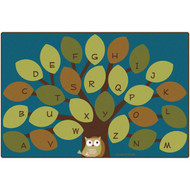 Carpets for Kids 20726 Owl-phabet Tree  6 x 9