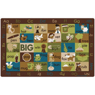 Carpets for Kids 59762 Rhyme Time Nature Rug 7 x 12