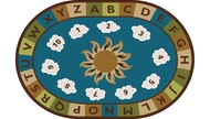 Carpets for Kids 94706 Sunny Day Learn and Play Rug  6 x 9