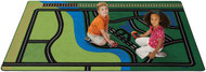 Carpets for Kids 6900 Transportation Fun Rug  6 x 9