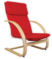 GuideCraft G6468 Red Teacher Rocker