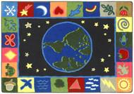 Joy Carpets 1405-B Earth Works Rug 3ft 10in x 5ft 4in