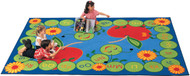 Carpets for Kids 2201 ABC Caterpillar Rug 4x5