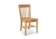 KI CrossRoads CRCHR14 Armless Wood Chair 14 inch Seat Height