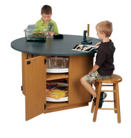 Wisconsin Bench CLW8192-DL Collaborative Learning Workstation w/ Phenolic Lab Top
