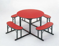 Barricks NBR-60 60 inch Round Cafeteria Table