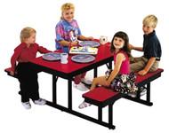 Barricks CNB-2460 24 x 60 Childrens Rectangular Cafeteria Table