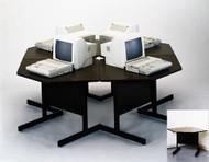 Barricks SWC-7878 Computer Workstation Cluster Set of 4
