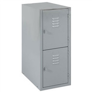 Shain LB-2 Locker Base with Two Vertical Lockers