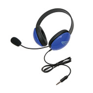 Califone 2800-BLT Listening First Stereo Headset with To Go Plug