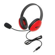 Califone 2800-RDT Listening First Stereo Headset with To Go Plug