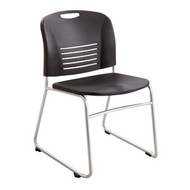 Safco 4292 VY Sled Base Guest Chair - Black