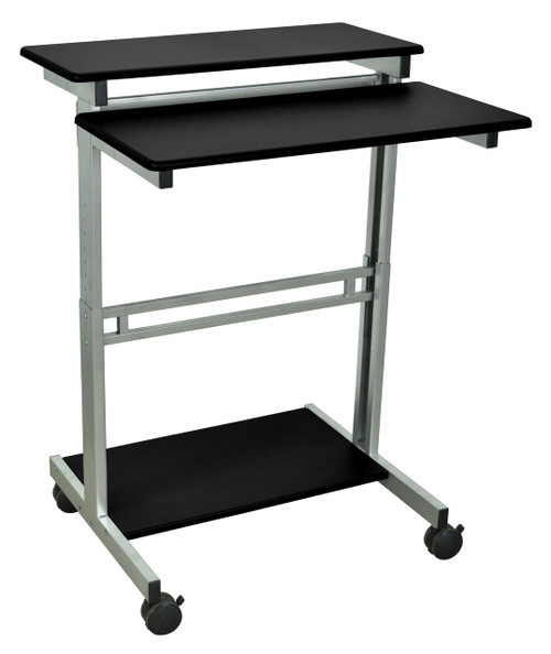 Luxor STANDUP-31.5 31.5inch Wide Stand Up Workstation-Black
