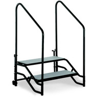 ST2 Portable Step Unit Two Steps with Hand Rails