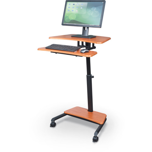 Balt 90459 up rite workstation mobile height adjustable for Mobile computer ikea