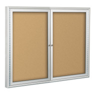 Balt 94PSE-I Indoor Enclosed Bulletin Board Cabinet 36H x 60W