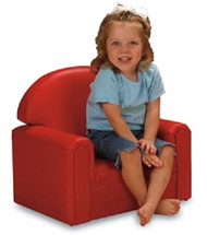 Brand New World FIVR200 Vinyl Infant Toddler Chair Red