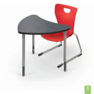 Balt 15XXGX Chevron Configurable Desk Small