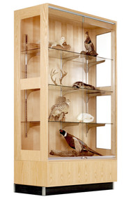 Diversified 380-4822K Premier Display Oak Cabinet