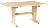 Diversified PT-62PNB26 Natural Birch Laminate Art Planning Table Elementary Height