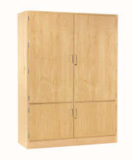 Diversifed TC-4 Pegboard Tool Storage Cabinet without Tools