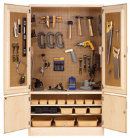 Diversifed TETC-40WT Tech-Ed Tool Storage Cabinet with Tools