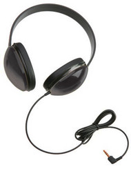 Califone 2800-BKP Listening First Stereo Headphones Black