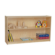 Wood Designs C12630AJ Contender Mobile Adjustable Bookcase