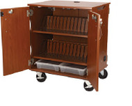 Stevens Industries 80810F36 Mobile Tablet Charging and Storage Cart