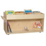 Wood Designs C74400F Contender Mobile Book Organizer