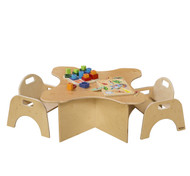 Wood Designs WD21810 Toddler Transition Table