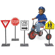 Angeles AFB2600 Traffic Signs Set of Four