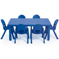 Angeles AB705206 Value Chair and Table Rectangle Set