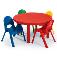 Angeles AB71012 Value Chair and Table Round Toddler Set