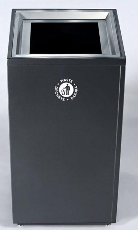 Magnuson VA1818L Valuta 40 gallon Indoor Waste and Recycling ...