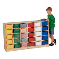 Jonti Craft 0431JC Mobile Cubbies with 30 Colored Trays
