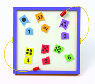 Gressco Y1061812 Numbers Match Magnetic Game