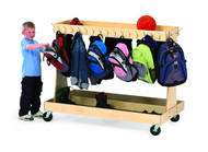 Gressco 5290 Mobile Classroom Backpack Cart