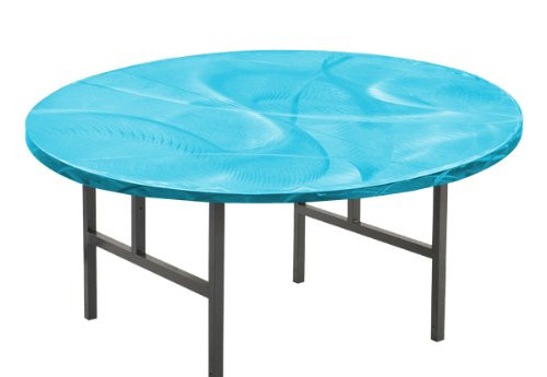 Southern Aluminum SA72RPHL Swirl Round Table With H Style Legs 72 Inch