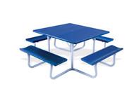 P4848D Square Picnic Table 48 x 48