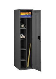 Tennsco CMS-182172-A Steel Combination Locker Assembled without Legs 18x21x72