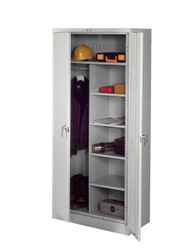Tennsco 1872 Deluxe Combination Cabinet with 7 Openings 36x18x78