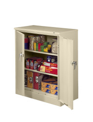 Tennsco 1842 Deluxe Counter Height Cabinet with 3 Openings 36x18x42