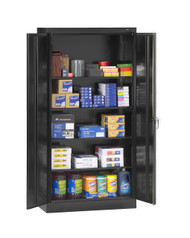Tennsco 1480 Standard Storage Cabinet with 5 Openings 36x24x72