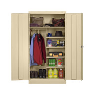Tennsco 1472 Standard Combination Cabinet with 7 Openings 36x18x72