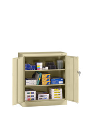 Tennsco 1442 Standard Counter Height Cabinet with 3 Openings 36x18x42