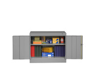 Tennsco 1430 Standard Counter Height Cabinet with 2 Openings 36x18x30