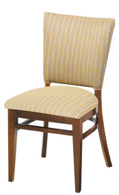 Grand Rapids Chair W504-V15 Melissa 18 Inch Chair with Inside Upholstered Back