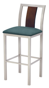 Grand Rapids Chair 310BS Jill Steel Barstool with Upholstered Seat