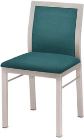 Grand Rapids Chair 311 Jill Steel Chair with Upholstered Back and Seat